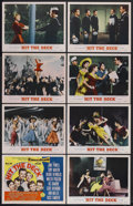 "Movie Posters:Musical Comedy, Hit the Deck (MGM, 1955). Lobby Card Set of 8 (11"" X 14""). Musical Comedy. Starring Jane Powell, Tony Martin, Debbie Reynold... (Total: 8 Items)"