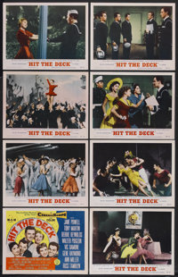 "Hit the Deck (MGM, 1955). Lobby Card Set of 8 (11"" X 14""). Musical Comedy. Starring Jane Powell, Tony Martin..."