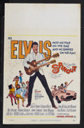 """Movie Posters:Elvis Presley, Spinout (MGM, 1966). Window Card (14"""" X 22""""). Musical. StarringElvis Presley, Shelley Fabares, Diane McBain and Dodie Marsh..."""