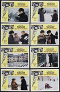 "Billion Dollar Brain (United Artists, 1967). Lobby Card Set of 8 (11"" X 14""). Spy Thriller. Starring Michael C..."