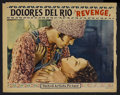 "Movie Posters:Romance, Revenge (United Artists, 1928). Lobby Card (11"" X 14""). Romance. Starring Dolores del Rio, James A. Marcus, Sophia Ortiga, L..."