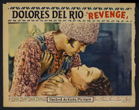 """Revenge (United Artists, 1928). Lobby Card (11"""" X 14""""). Romance. Starring Dolores del Rio, James A. Marcus, So..."""