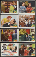 """Movie Posters:Comedy, The Reformer and the Redhead (MGM, 1950). Lobby Card Set of 8 (11"""" X 14""""). Comedy. Starring June Allyson, Dick Powell, David... (Total: 8 Items)"""