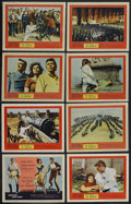 "Movie Posters:Adventure, The Pride and the Passion (United Artists, 1957). Lobby Card Set of8 (11"" X 14""). Adventure. Starring Cary Grant, Frank Sin... (Total:8 Items)"