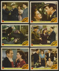 "Movie Posters:War, Pacific Rendezvous (MGM, 1942). Lobby Cards (6) (11"" X 14""). War.Starring Lee Bowman, Jean Rogers, Mona Maris, Carl Esmond,...(Total: 6 Items)"