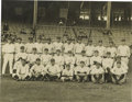 Baseball Collectibles:Photos, 1923 New York Yankees Team Photograph from Bengough Estate.Magnificent team image of the first World Championship Yankees ...