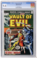 Bronze Age (1970-1979):Horror, Vault of Evil #2 (Marvel, 1973) CGC NM 9.4 Off-white to whitepages....