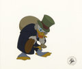 "Animation Art:Production Cel, ""Mickey's Christmas Carol"" Production Cel Original Art (WaltDisney, 1983). Disney's Academy Award nominated twenty-four min..."