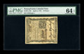 Colonial Notes:Pennsylvania, Pennsylvania April 3, 1772 18d PMG Choice Uncirculated 64 EPQ.Solid margins surround this boldly signed, original issue. Th...