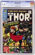 Silver Age (1956-1969):Superhero, Thor King-Size Special #2 (Marvel, 1966) CGC NM 9.4 Off-white to white pages....
