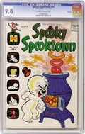 Bronze Age (1970-1979):Cartoon Character, Spooky Spooktown #35 File Copy (Harvey, 1970) CGC NM/MT 9.8 Off-white to white pages....