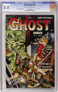 Golden Age (1938-1955):Horror, Ghost #9 (Fiction House, 1953) CGC VF 8.0 Light tan to off-whitepages....