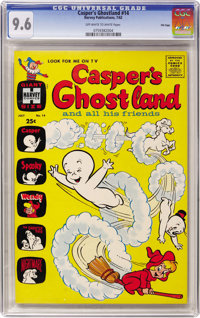 Casper's Ghostland #14 File Copy (Harvey, 1962) CGC NM+ 9.6 Off-white to white pages
