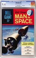 Silver Age (1956-1969):Adventure, Dell Giants #27 Man In Space - File Copy (Dell, 1959) CGC NM 9.4 Off-white to white pages....