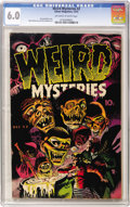 Golden Age (1938-1955):Horror, Weird Mysteries #2 (Gillmor, 1952) CGC FN 6.0 Off-white to whitepages....