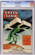 Golden Age (1938-1955):Science Fiction, Green Lama #6 Ohio pedigree (Spark Publications, 1945) CGC FN/VF7.0 Off-white to white pages....