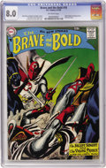 Silver Age (1956-1969):Adventure, The Brave and the Bold #18 (DC, 1958) CGC VF 8.0 Off-white pages....