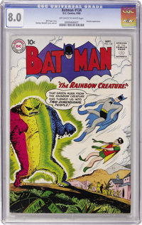Batman #134 (DC, 1960) CGC VF 8.0 Off-white to white pages