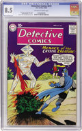Silver Age (1956-1969):Superhero, Detective Comics #272 (DC, 1959) CGC VF+ 8.5 Off-white to white pages....