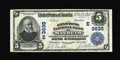 National Bank Notes:Pennsylvania, Manheim, PA - $5 1902 Plain Back Fr. 600 The Keystone NB Ch. #(E)3635. While Series 1929 examples abound from here, lar...