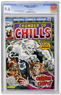 Bronze Age (1970-1979):Horror, Chamber of Chills #4 (Marvel, 1973) CGC NM+ 9.6 White pages....