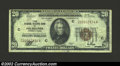 Small Size:Federal Reserve Bank Notes, 1929 $20 Federal Reserve Bank Note, Fr-1870-C, VF. ...
