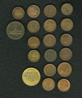 Civil War Merchants, Group Lot of Tokens, Mostly Civil War.... (Total: 19 tokens)
