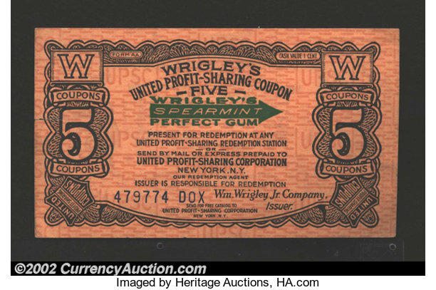 wrigley s united profit sharing coupon au a very interesting