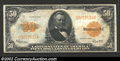 Large Size:Gold Certificates, 1922 $50 Gold Certificate, Fr-1200, VF-XF. Large size gold $...