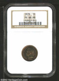 Proof Indian Cents: , 1878 1C PR 66 Red and Brown NGC. ...
