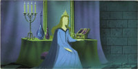 "Eyvind Earle - ""Sleeping Beauty"" Animation Concept Painting Original Art (Disney, 1959)"