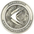 Explorers:Space Exploration, Apollo 15 Flown Robbins Silver Medallion,...
