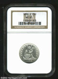 Seated Quarters: , 1856-O 25C MS61 NGC. ...