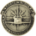 Explorers:Space Exploration, Space Shuttle Discovery (STS-29) Unflown Silver RobbinsMedallion Directly from the Personal Collection of Astrona...