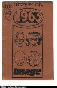 1963 #1 Gold (Image, 1993). limited British promotional edition #1/20. Few limited edition Alan Moore comics were ever m...