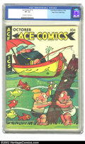 Golden Age (1938-1955):Cartoon Character, Ace Comics #115 Mile High pedigree (David McKay Publications, 1946)CGC VF- 7.5 Off-white to white pages. Overstreet 2002 VF...