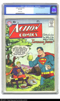 Silver Age (1956-1969):Superhero, Action Comics #232 (DC, 1957) CGC VF 8.0 Off-white pages. Overstreet 2002 VF 8.0 value = $232....