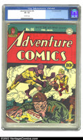 Golden Age (1938-1955):Superhero, Adventure Comics #96 (DC, 1945) CGC VF- 7.5 Off-white pages. Simon and Kirby art. Overstreet 2002 VF 8.0 value = $597. ...