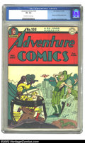 Golden Age (1938-1955):Superhero, Adventure Comics #100 (DC, 1945) CGC VF+ 8.5 Cream to off-white pages. Simon and Kirby cover. Overstreet 2002 VF 8.0 value =...