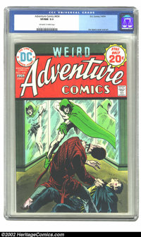 Adventure Comics #434 (DC, 1974) CGC VF/NM 9.0 Off-white to white pages. Jim Aparo cover and art. Overstreet 2002 NM 9.4...