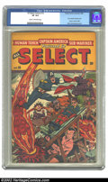 Golden Age (1938-1955):Superhero, All Select Comics #10 (Timely, 1946) CGC VF 8.0 Cream to off-white pages. Alex Schomburg cover. Overstreet 2002 VF 8.0 value...