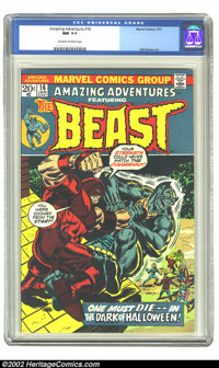 Amazing Adventures #16 (Marvel, 1973) CGC NM 9.4 Off-white to white pages. Bob Brown art. Overstreet 2002 NM 9.4 value =...