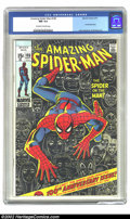 Bronze Age (1970-1979):Superhero, The Amazing Spider-Man #100 Anniversary Issue(Marvel, 1971) CGC NM 9.4 Off-white to white pages. Overstreet 2002 NM 9.4 valu...