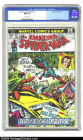 Bronze Age (1970-1979):Superhero, The Amazing Spider-Man #117 (Marvel, 1973) CGC NM 9.4 Off-white pages. Overstreet 2002 NM 9.4 value = $45....