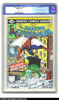 The Amazing Spider-Man #212 (Marvel, 1981) CGC NM/MT 9.8 White pages. This issue features the first appearance of Hydro-...