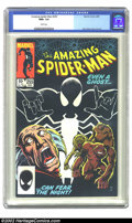 Modern Age (1980-Present):Superhero, The Amazing Spider-Man #255 (Marvel, 1984) CGC NM+ 9.6 White pages. Overstreet 2002 NM 9.4 value = $6....