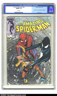 The Amazing Spider-Man #258 (Marvel, 1984) CGC NM/MT 9.8 White pages. This issue features an appearance by the Fantastic...