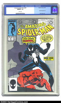 The Amazing Spider-Man #287 (Marvel, 1987) CGC NM/MT 9.8 White pages. This issue contains an appearance by Daredevil. Ov...