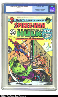 Amazing Spiderman giveaway #nn (Marvel, 1983) CGC NM 9.4 Off-white to white pages. Supplement to the Kansas City Star; J...