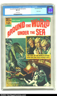Around the World Under the Sea nn (Dell, 1966) CGC NM 9.4 Off-white pages. Movie Classics. Overstreet 2002 NM 9.4 value...
